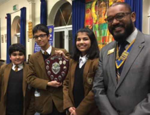 Redbridge pupils battle it out in a war of words