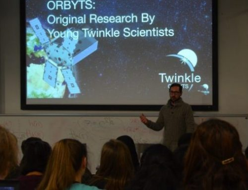 The ORBYTS programme (Original Research By Young Twinkle Students)