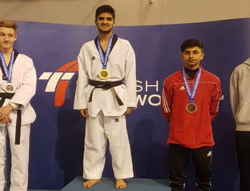 Taekwondo British Champion 2018