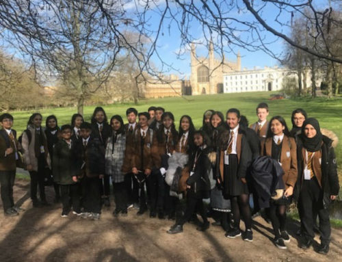 Visit to Cambridge University